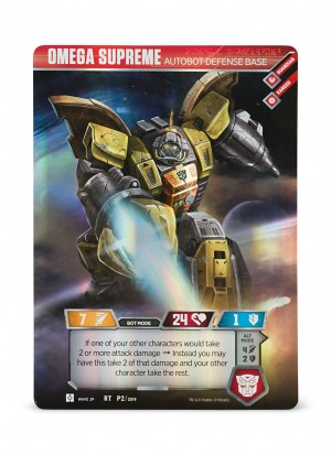 Transformers Trading Card Game Omega Supreme Set on Sale at Lootcrate for only Ten Bucks