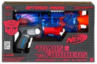 Transformers News: SDCC Exclusive Nerf Optimus Prime Blaster