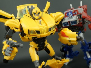 New Galleries: Transformers Prime Weaponizers Optimus Prime and Bumblebee