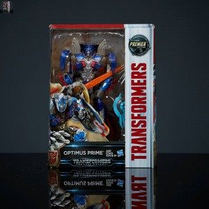 Transformers News: The Last Knight Premier Edition Optimus Prime Packing Image
