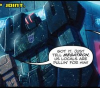 Transformers News: IDW Transformers: Autocracy issue 4 review