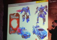 New Images of Transformers: The Ride's Evac Cyververse and Deluxe
