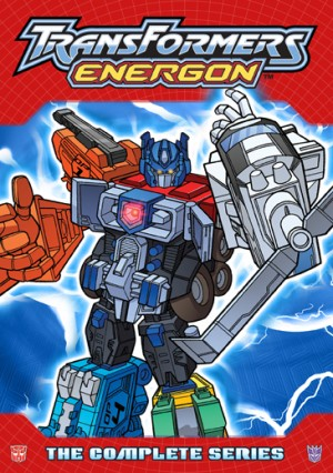 Transformers Energon: The Complete Series and Transformers Energon, Vol. 1 Cover Art
