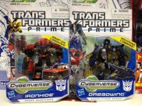 Transformers Prime Cyberverse Commanders Dreadwing and Ironhide Images and Bios