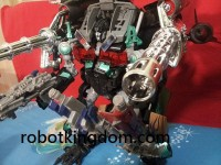 Transformers News: In hand photos of Nightwatch Jet-Wing Optimus Prime