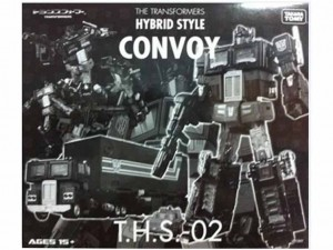 Transformers News: THS-02B Hybrid Style Black G1 Convoy Asia Exclusive
