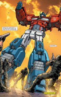Transformers News: USA TODAY headline: Optimus Prime quits!