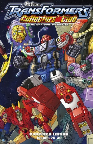 Transformers News: Transformers Collectors Club Magazine Collected Edition Volumes 4 and 5 Listings
