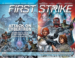 Transformers News: IDW Editor David Hedgecock Interview on Hasbro Universe First Strike #HasbroFirstStrike