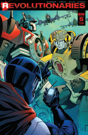 Transformers News: Review of IDW Revolutionaries #5