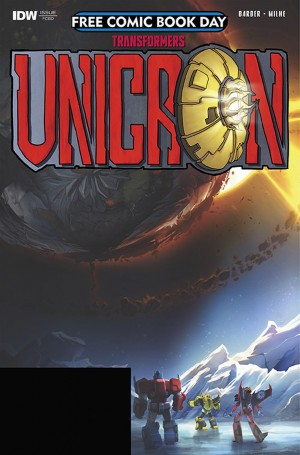 IDW Transformers - Unicron: The Darkest Hour #0 Released on Free Comic Book Day