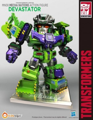 Transformers News: TFSource News - DX9 Tyrant, MakeToys, Kids Logic Devy and More!