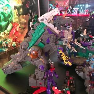 Transformers News: Toy Fair 2017 - Transformers Titans Return Trypticon Diorama Image #TFNY #HasbroToyFair