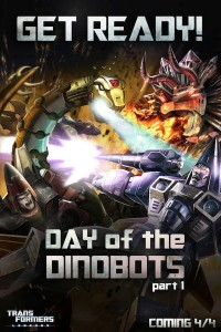 "Transformers News: New Transformers: Legends Mobile Device Game Event ""Day of the Dinobots"""