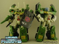 Headrobots: Alternate Universe Hothead (Recolored Hothead w/ Face)