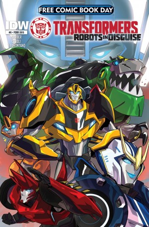 Transformers News: Robots in Disguise #0 FCBD 2015 Edition Announced