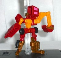 Transformers News: Images of TakaraTomy ROTF Promotional Exclusive Micron Mighty Bull