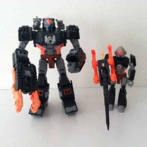 Transformers News: In-Hand Image: TFSS 2.0 Treadshot with Catgut