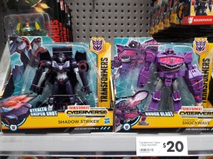 Transformers Cyberverse Wave 2 found in New Zealand and Wave 1 found in Mexico
