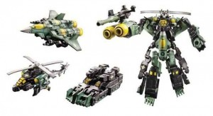 Transformers News: Video Review: Transformers Generations Mini-Con Assault Team