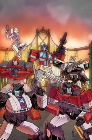 Transformers News: Exclusive Giant Robot Comics (Halifax) RID Variant Cover - Casey Coller, JP Bove