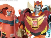 Transformers News: New Galleries: Toys R Us Exclusive Transformers Animated Rodimus Minor and Ironhide