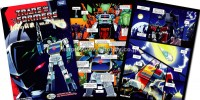 "Transformers News: e-Hobby / TFCC Shattered Glass Soundwave vs. Blaster ""Solar Requiem"" Comic English Preview"
