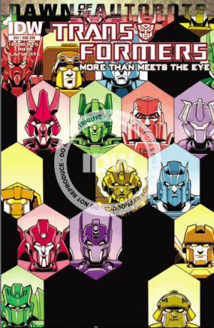 IDW Transformers:  More Than Meets The Eye #31 Preview