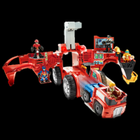 Transformers News: HTS: Transformers Prime Weaponizers and Transformers: Rescue Bots Mobile Headquarters In-Stock