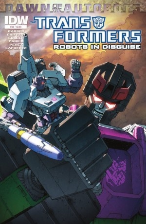 Transformers News: IDW Transformers: Robots in Disguise #30 Preview