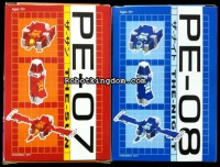 Transformers News: Robotkingdom Update: PE-07 & 08 Available Now!