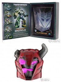 "Transformers News: Official Images of SDCC Exclusives Transformers Prime ""Rust in Peace"" Cliffumper and Transformers: Fall of Cybertron Bruticus Giftset"