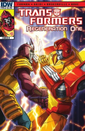 Transformers News: IDW Transformers: ReGeneration One #95 Preview