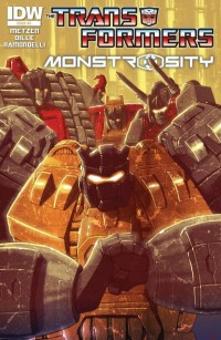 Transformers News: Transformers: Monstrosity #3 (of 12) Preview