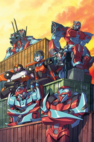 Transformers News: IDW The Transformers #54 Sara Pitre-Durocher Variant Cover
