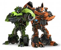 Transformers News: No Skids and Mudflap in DOTM