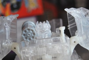 Transformers News: Clear Prototype Transformers Generations Starscream and Soundwave Images