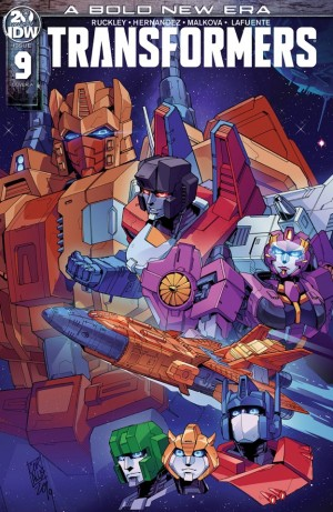 IDW Transformers Issue 9 Preview and Alternate Cover for Issue 10