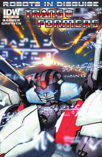 Transformers News: Seibertron.com reviews IDW Transformers: Robots In Disguise issue 3