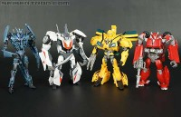 New Transformers Prime Robots In Disguise Galleries: Soundwave, Cliffjumper, Wheeljack and Bumblebee