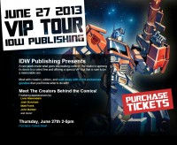 Transformers News: IDW Publishing announces special VIP Tour during BotCon