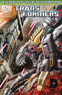 Transformers News: Transformers Prime: Rage of the Dinobots #2 Preview