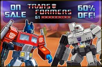 Transformers G1: Awakening now available for Google Android phones