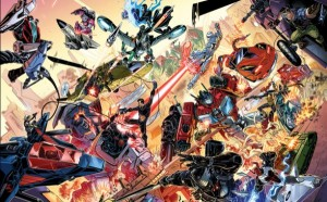 IDW Hasbro Comics Crossover: Revolution Issue #00 Up For Free Order