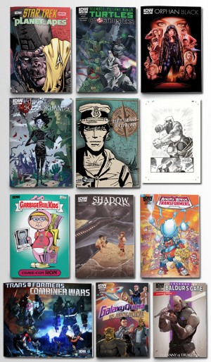 IDW Publishing 2014 San Diego Comic-Con Announcements Round-Up - Official Press Release