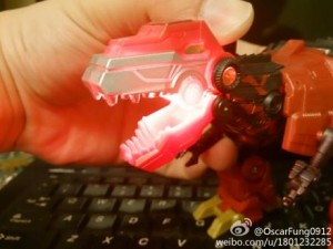 Transformers News: In-Hand Images: Takara Tomy Exclusive Fireblast Grimlock