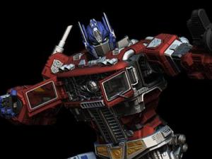 Imaginarium Art Licensed Transformers Optimus Prime