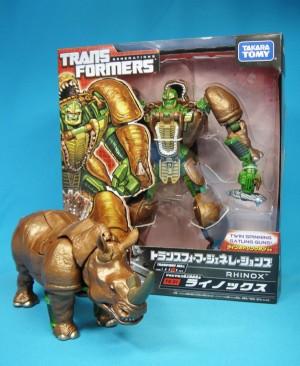 Transformers News: New Images of Takara Tomy Transformers Generatins TG-30 Waspinator and TG-31 Rhinox