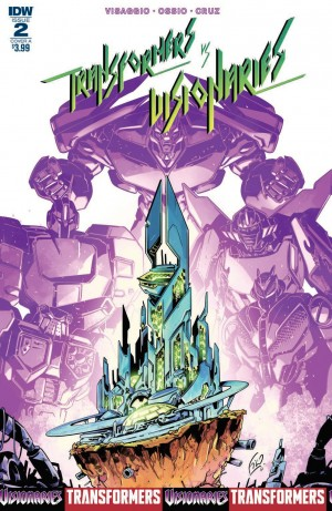 Review of IDW Transformers vs Visionaries #2