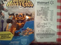 Transformers News: Beast Hunters Cyberverse Commanders Huffer and Optimus Prime Sighted at Retail